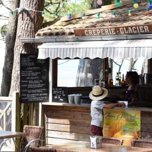 Crêperie en vacances en Gironde bord de mer