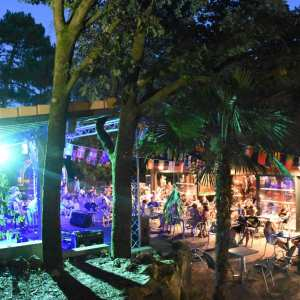 Concerts et animations scène plein air camping bassin arcachon