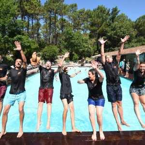 animateurs de camping piscine espace aquatique